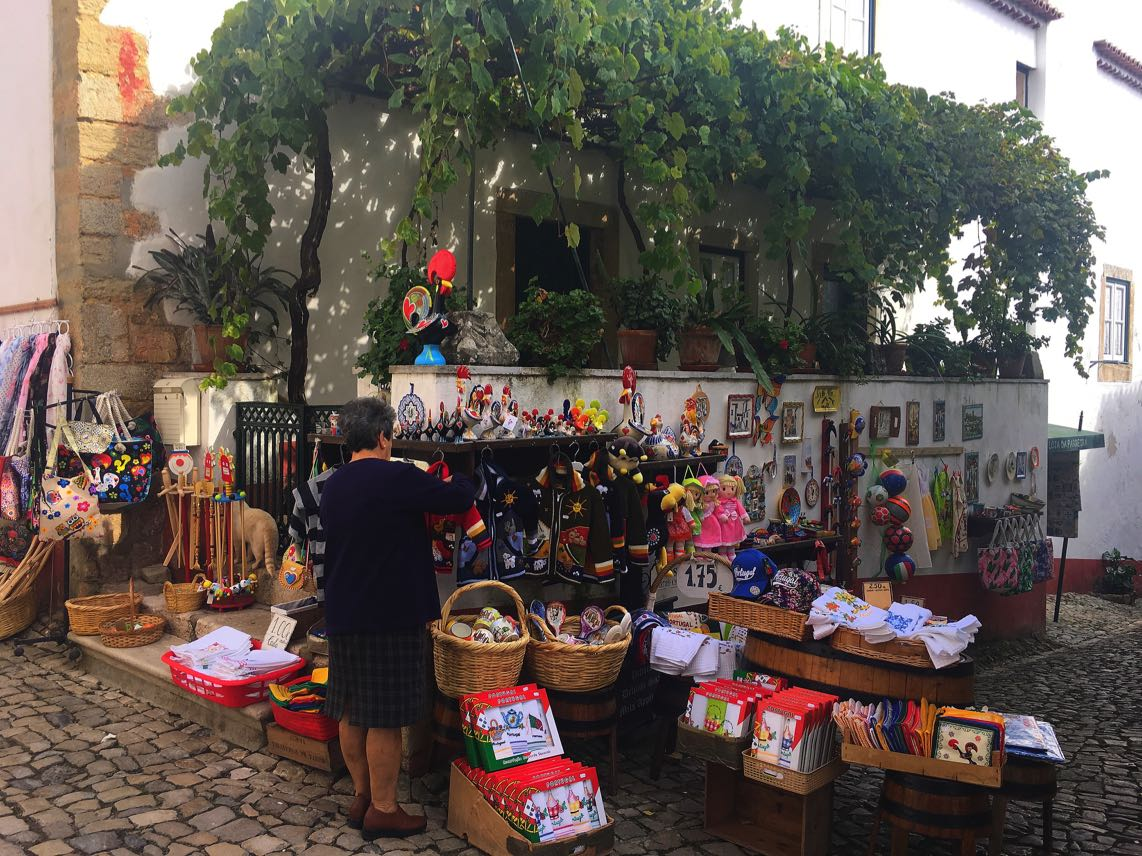 Obidos shop, Portugal