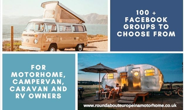 100 + Motorhome, Campervan, RV & Caravan Facebook Groups