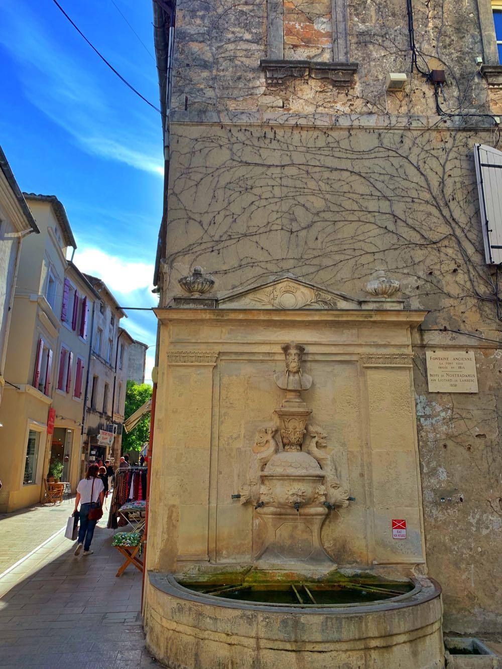 Fountain in Saint-Remy-de-Provence
