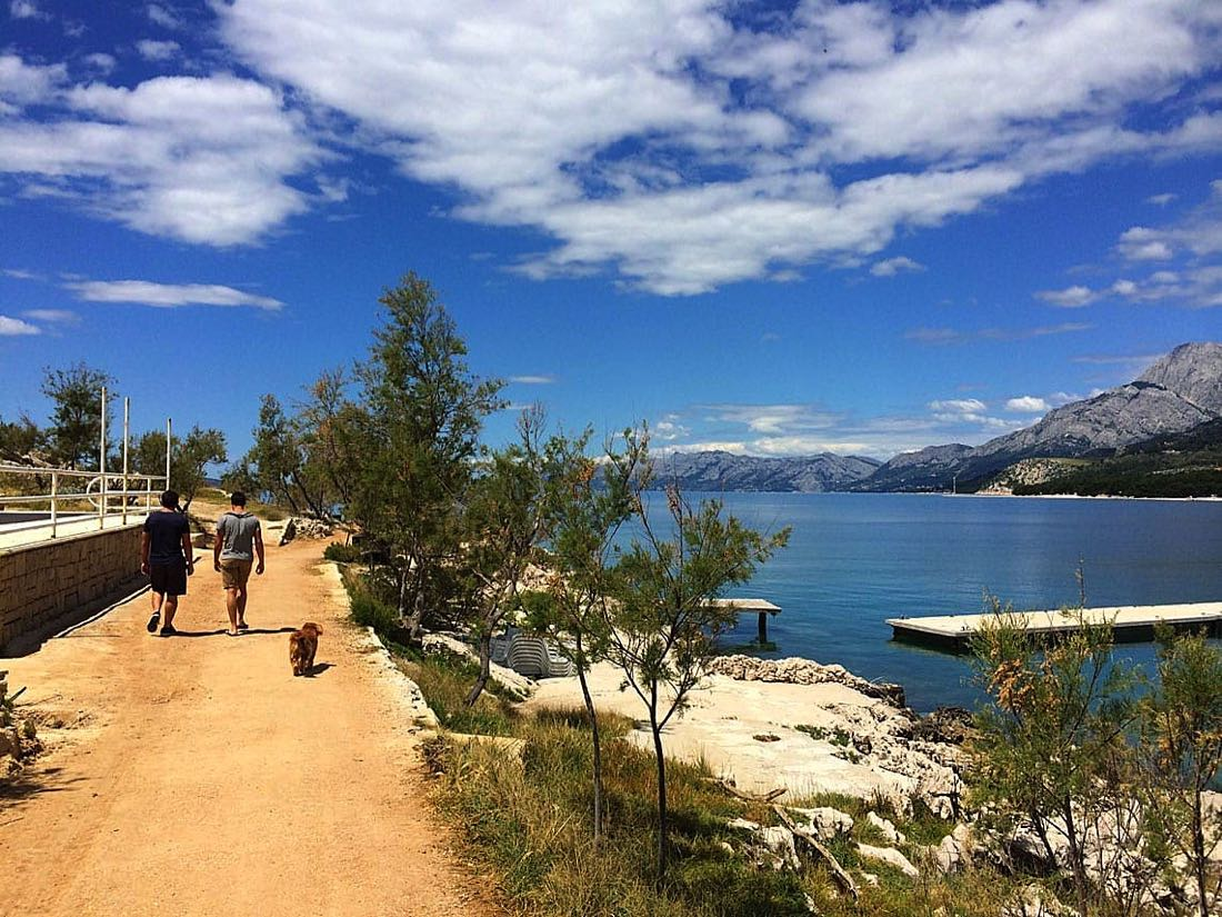 Makarska-walkway