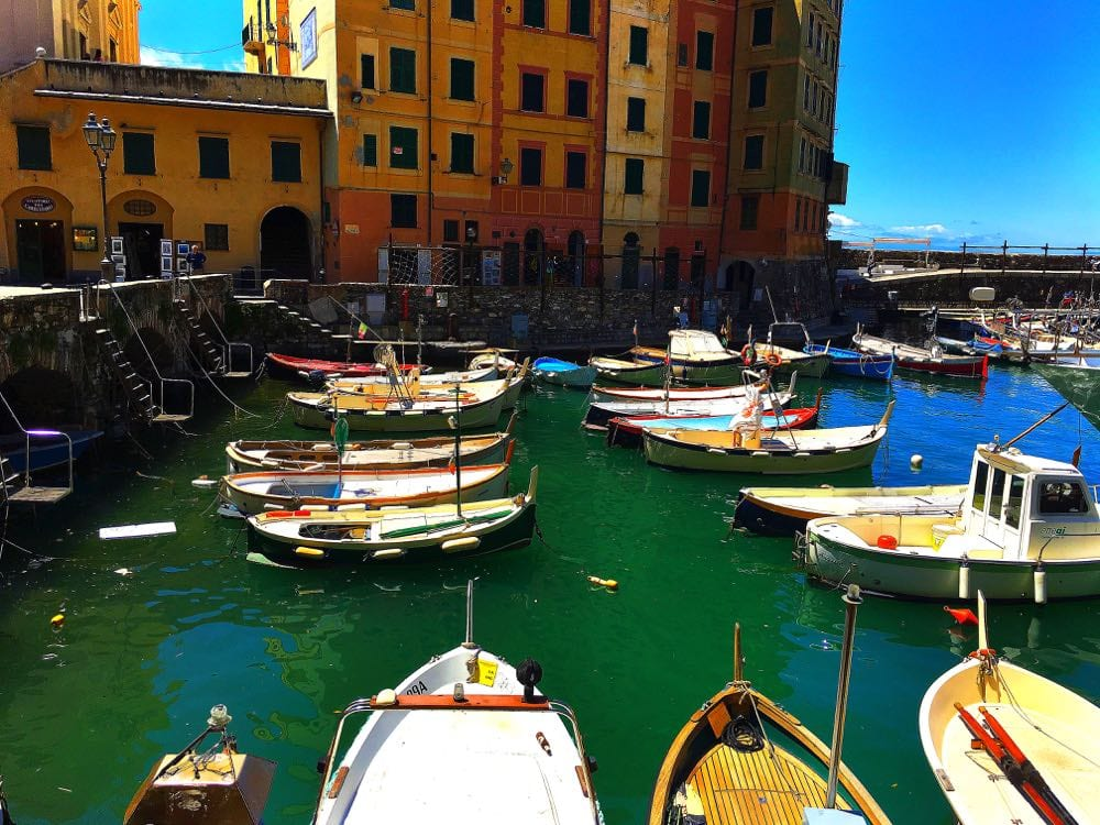 Camogli-harbour
