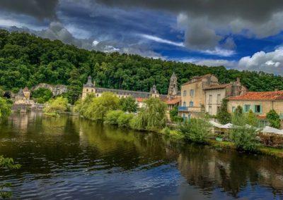 Brantome-river